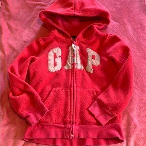 GAP Girls fleece sweatshirt size 5T